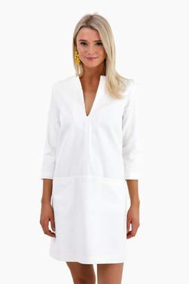 Americana Emerson Fry White Mod Dress