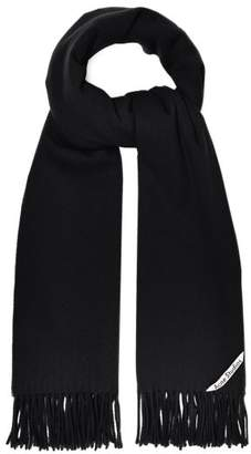 Acne Studios Canada Wool Scarf - Womens - Black