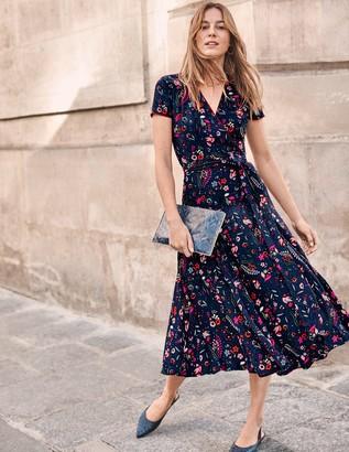 Boden Natasha Midi Wrap Dress