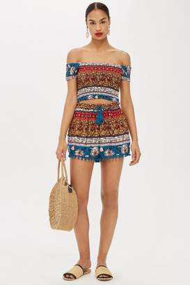 Band of Gypsies Printed Shorts by