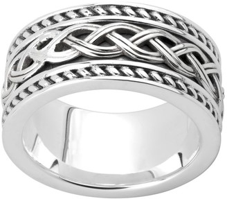 Celtic Solvar Sterling Band Ring