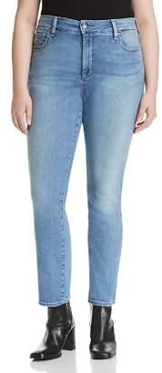 Decode 1.8 NYDJ Plus Sheri Slim Jeans in Dreamstate