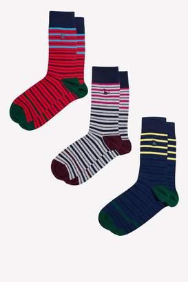 Jack Wills Brunton Fine Stripe Sock