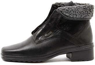 Gabor Zahra Schwarz Boots Womens Shoes Casual Ankle Boots