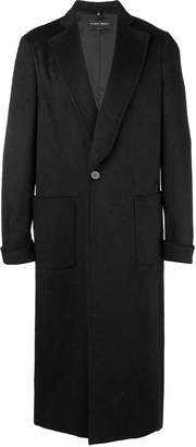 Christian Pellizzari long single breasted coat