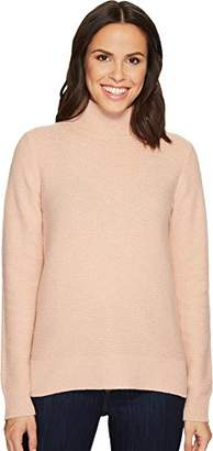 Equipment Women's Chunky Novelty Garter Stitch Chandler Turtleneck