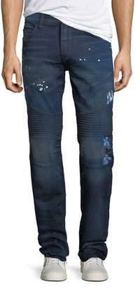 True Religion Geno Moto Splatter Jeans, Fragment
