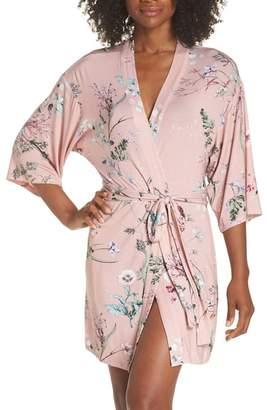Flora Nikrooz Sleepwear KNIT PRINT ROBE