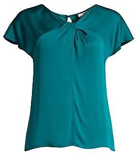 Milly Women's Tatiana Silk-Blend Top