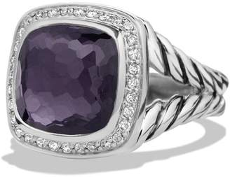 David Yurman 'Albion' Ring with Semiprecious Stone and Diamonds