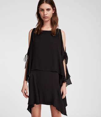 AllSaints Ella Sheer Dress