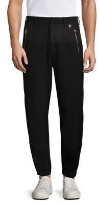 Versace Zip Jogger Pants