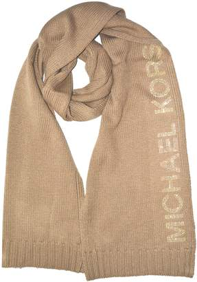 Michael Kors Knitted Scarf with Studded Logo