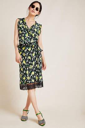 Diane von Furstenberg Clara Silk Midi Skirt