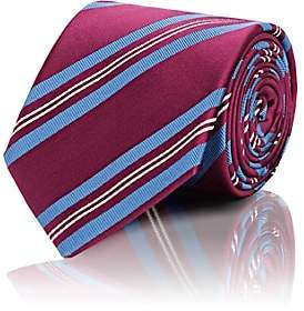Bigi BIGI MEN'S DIAGONAL-STRIPE SILK NECKTIE