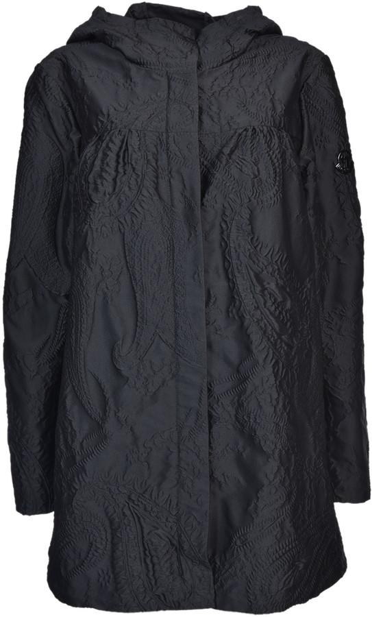 Moncler Gamme RougeMoncler Gamme Rouge Paisley Pattern Raincoat