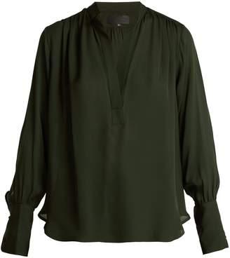 Nili Lotan Collette silk blouse