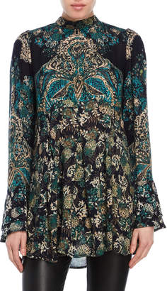 Free People Lady Luck Tie Back Tunic