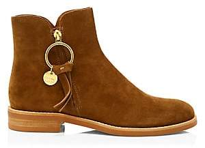 See by Chloe Women's Tassel Suede Ankle Boots