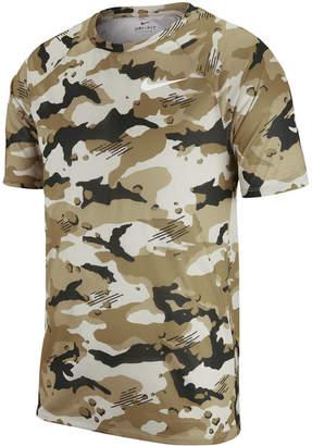 Nike Men's Dry Legend Camo-Print T-Shirt
