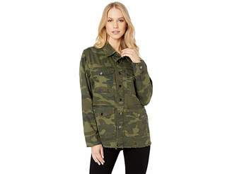 Blank NYC Olive/Camo Reversible Jacket in Army Brat