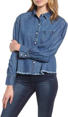 BP Balloon Sleeve Chambray Shirt