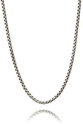 Think Positive By Antonio Marsocci Men's Sterling Silver Necklace