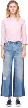 Rebecca Taylor La Vie Wide Leg Jean