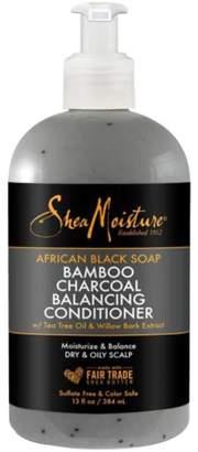 Shea Moisture Sheamoisture African Black Soap Bamboo Charcoal Balancing Conditioner