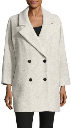 MiH Jeans Women's Double Breasted Cotton Coat