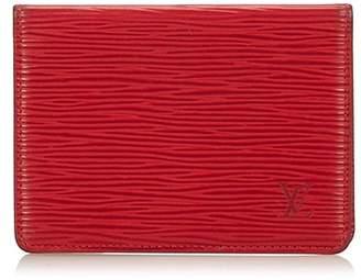 Louis Vuitton Vintage Epi Porte 2 Cartes Vertical