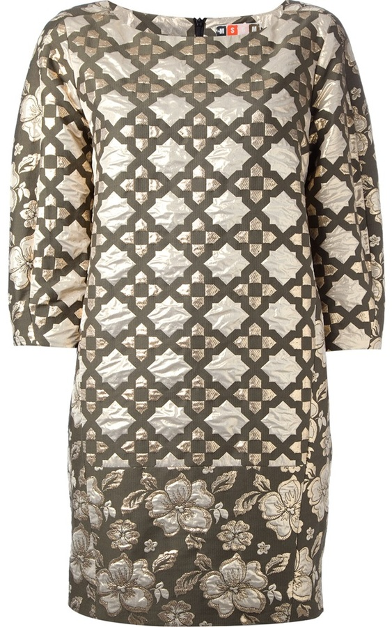 MSGM patterned dress