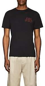 Saturdays NYC Men's Wave Condensed Cotton Jersey T-Shirt - Black
