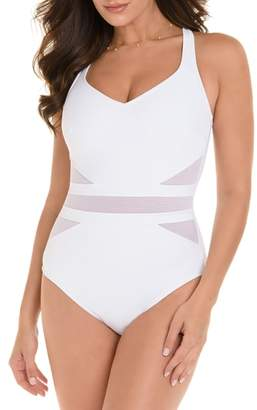 Miraclesuit R) Illusionist It's a Cinch One-Piece Swimsuit