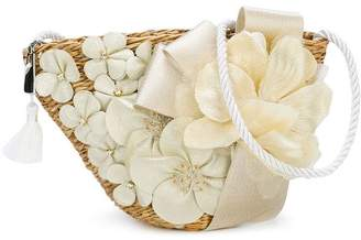 David Charles Kids flower patch shoulder bag