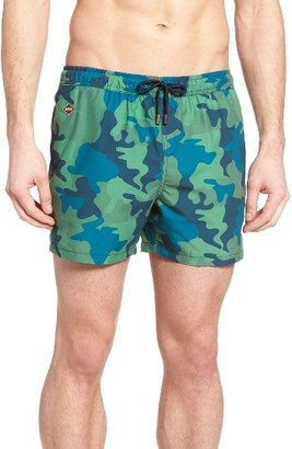Men's Nikben Kongo Print Swim Trunks $105 thestylecure.com