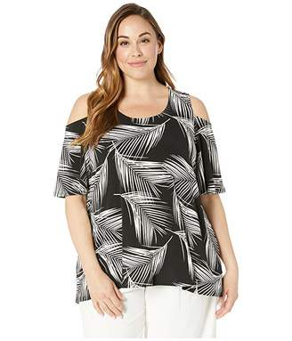 579af06451f Karen Kane Plus Plus Size Cold Shoulder Top