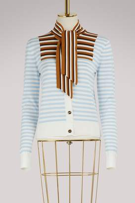 Marco De Vincenzo Striped cardigan