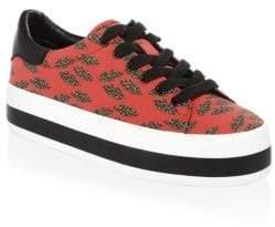 Alice + Olivia Erza Cheetah Sneakers