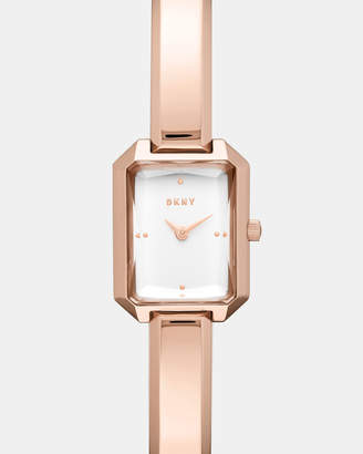 DKNY Cityspire Rose Gold -Tone Analogue Watch