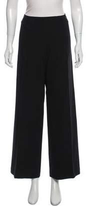 Chanel Wool Wide-Leg Pants