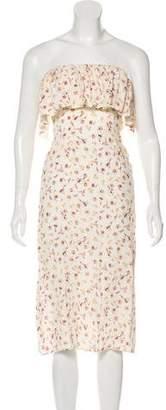 Flynn Skye Floral Printed Midi Dress w/ Tags