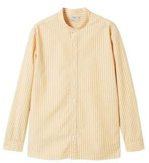 Mango man MANGO MAN Regular-fit striped cotton shirt