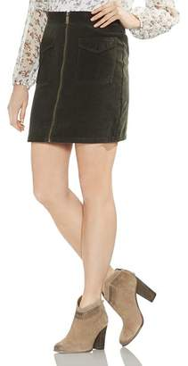 Vince Camuto Washed Corduroy Skirt