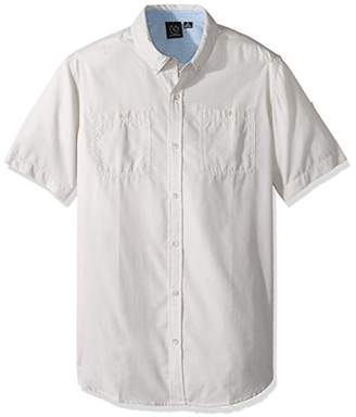 Burnside Men's Follow Texture Short Sleeve Shirt