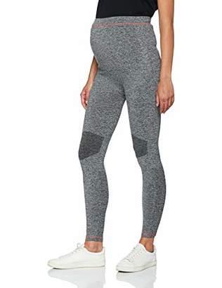 21eb4f33a51b7c Mama Licious Mamalicious Women's Mlfit Active Tights Noos Maternity Leggings,  Medium Grey Melange, (