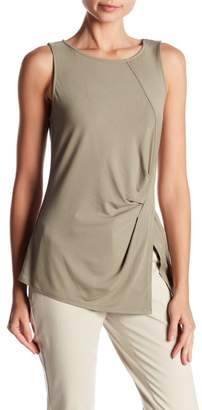 Vince Camuto Sleeveless Side Twist Tank Top