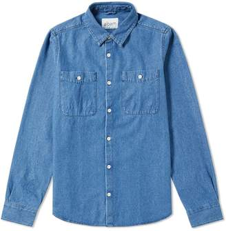 Albam Chambray Heaney Pocket Shirt