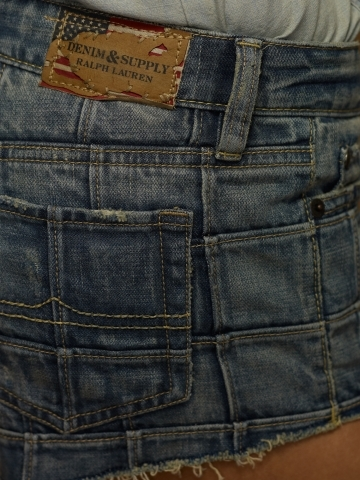 Denim & Supply Ralph Lauren Patched Mini-Short