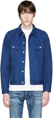 Visvim Navy Denim Jacket $1,125 thestylecure.com